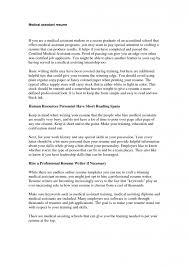 assistant medical assistant resume sample sample of a medical assistant resume