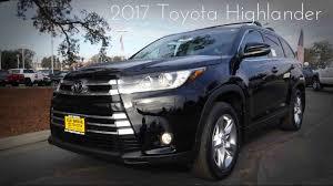 2017 Toyota Highlander Limited 3.5 L V6 Review - YouTube