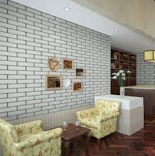 Small Picture Chinese Culture Stone Imitation Brick Pattern Brick Red Wallpaper