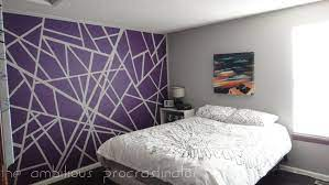 wall tape painting patterns do you