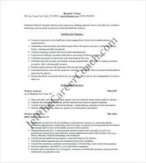 Medical Assistant Resume Examples No Experience | Nfcnbarroom.com
