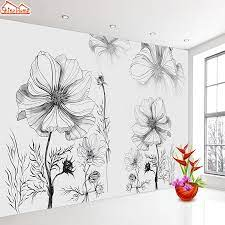 Black White Floral Wall Papers Home ...