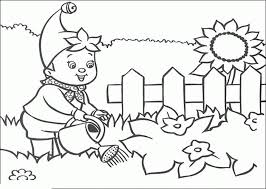 The first one is this garden coloring sheet. Garden Coloring Page Images For Kids Coloring Home