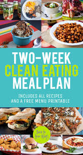 weekly meal planning for two two week healthy eating meal plan january 2014 wholefully