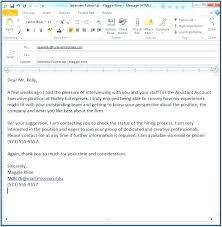 Resume Cover Letter For Email Topresumeletter