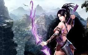 fantasy archer wallpaper hd