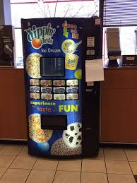 Nj Lottery Vending Machines Inspiration Dippin Dots Ice Cream Vending Machine Yelp
