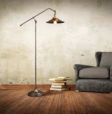 brief floor lamp iron industrial loft standing home reading lights studio office lighting country simple and