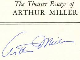 search results for legendary authors > arthur miller the theater essays of arthur miller 1st edition 1st printing