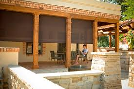 outdoor shades for patios screen shades