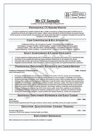 Resume Writing Example Examples Of Resumes