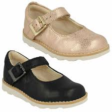young soles dellilah girls marmalade leather mary jane shoes uk 7 infant for