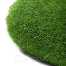 diy marimo artificial grass turf mini fairy garden micro terrarium