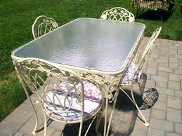 wrought iron patio furniture vintage. Woodard Wrought Iron Furniture Vintage Patio U