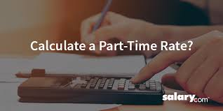 How Do I Convert Salary To Hourly To Calculate A Part Time Rate