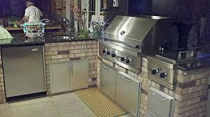 viking outdoor kitchen grill installation unique tops ideas