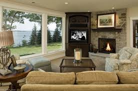 Tv Living Room Design Living Room Living Room Design With Corner Fireplace And Tv