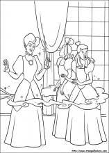 Disegni Di Cenerentola Da Colorare