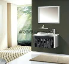 steel bathroom vanity modern stainless cabinet singapore