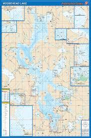 Moosehead Lake Fishing Map