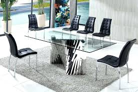 modern glass dining table 2018 home design ideas glass dining table sets toronto modern glass dining
