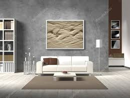 Natural Color Living Room Modern Living Room In Natural Colors Stock Photo Ac Numismarty