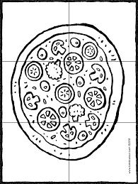 Pizza Puzzelen Kiddicolour