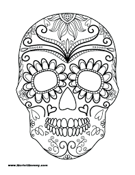 Free Skull Coloring Pages Skull Coloring Pages Free Coloring Pages