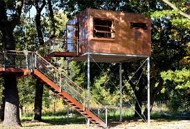 Cube Tree House Design Ideas Front View