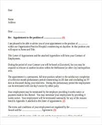 Appointment Letters In Doc 100 Appointment Letter Template in Doc Free Premium Templates 2
