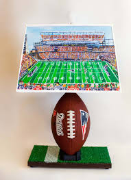 new england football lamp with special lampshade