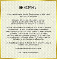 Aa Quotes Impressive AA Promises By Spiritual Awakenings