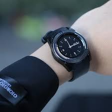 Đồng hồ thông minh mặt tròn V8