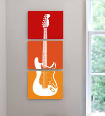 excellent ideas guitar wall decor absolutely design acoustic throughout recent theme wall art gallery