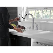 Delta Classic Kitchen Faucet Delta Kate Single Handle Deck Mounted Kitchen Faucet With Soap