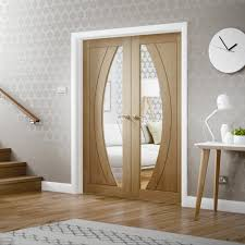 oak rno glazed french doors emerald internal double doors with glass gallery