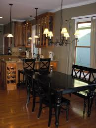 Black Wood Kitchen Table Black Kitchen Table With Bench Rustic Kitchen Tables With Benches