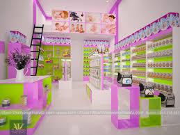 Thiết kế cửa hàng mẹ và bé tại TPHCM đẹp nhất 2020