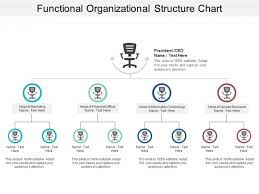 Functional Organizational Structure Chart Ppt Powerpoint