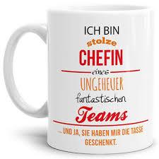 Tasse Mit Spruch Chefin Kaffeetasse Mug Cup Qualität Made