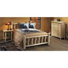 Natural Bedroom Furniture Rustic Natural Cedar Furniture Companyar Cedar Log Nightstand