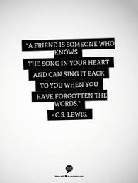 Cs Lewis Quote About Friendship CS Lewis friendship quote The Wit and Wisdom of CS Lewis 44