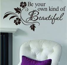 Beautiful Wall Quotes Best of Amazon Picniva Be Your Own Kind Of Beautiful Decals Flower Vine