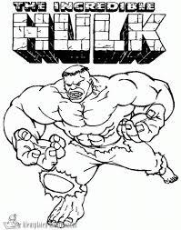 Kleurplaten Incredible Hulk The Kleurplaten Kleurplaatnl