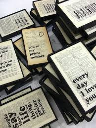 wall envy art typographic onto or old book pages