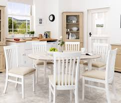florence large round oval extended table and chair