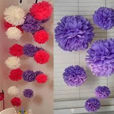 Make Tissue Paper Flower Balls Making Paper Flower Balls Under Fontanacountryinn Com