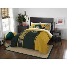 green bay packers nfl comforter set