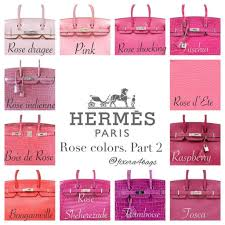 The Most Common Hermes Colors How It Looks Heychenny