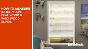 How to measure window for blinds Shutters Watermark Justblindscom How To Measure For Faux Wood Blinds Justblinds